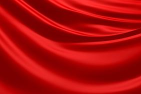 红色绸缎背景高清图片