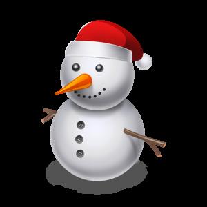 創意可愛圣誕節雪人節日元素