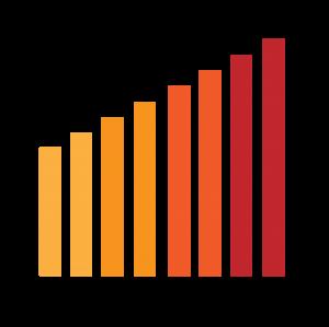 簡約風格統計表