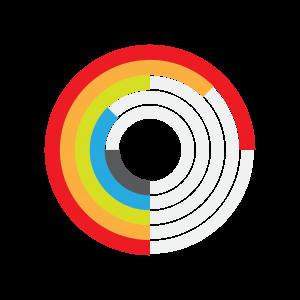 圆圈加载图表标志