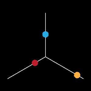 内三角形数学几何图案