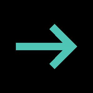 蓝色线头箭头指示标