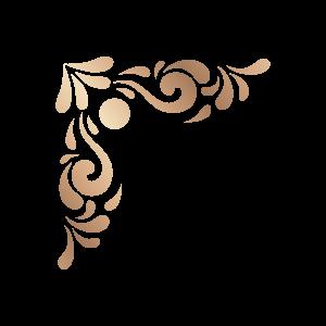 简约古典金色传统花纹