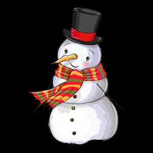 可愛創意圣誕節雪人