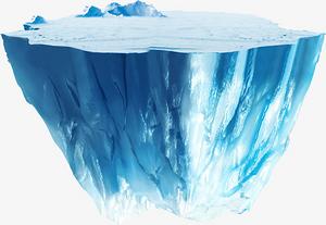 藍色冰山平臺