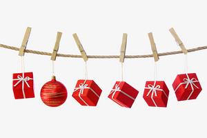 圣誕禮品晾衣架裝飾