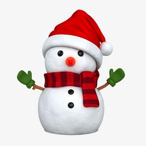 圣誕節雪人