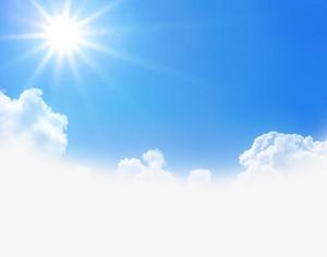藍天白云背景素材