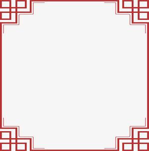 中国风边框   边框  复古边框