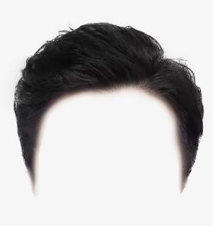 男士證件照頭型