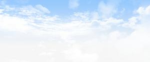藍天白云邊框紋理