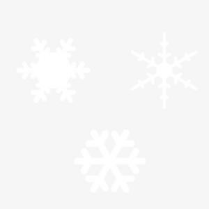 冬天雪花元素