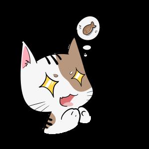 花纹猫咪买买买表情包