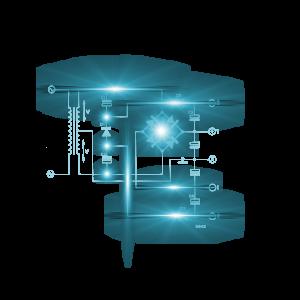 互联网科技数据光效边框