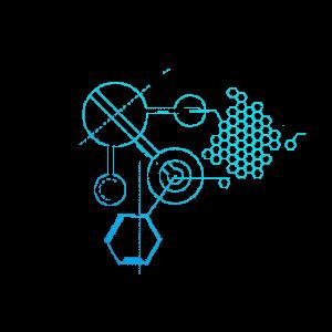 藍色科技圖案科技元素