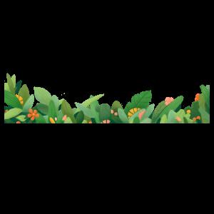 植物綠草設計圖形