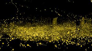金色流沙圈圈螢火蟲
