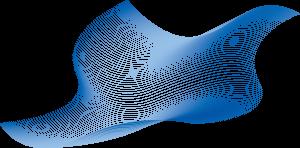 蓝色科技感线条