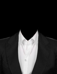 女式白色襯衫黑西裝